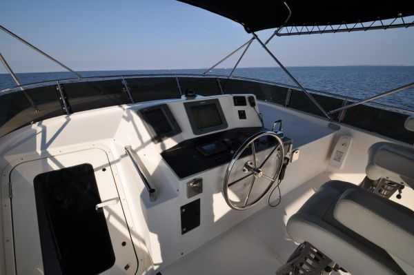 Symbol Pilothouse stabilized 578 hours 2004 Pilothouse Boats for Sale