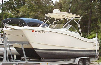 World Cat DUAL CONSOLE 250 DC 2004 World Cat Boats for Sale