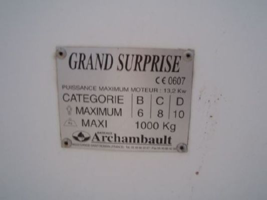 2005 archambault grand surprise  13 2005 Archambault Grand Surprise