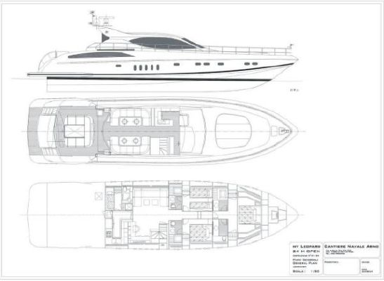 Arno, Leopard 24 24 M Hard Top 2005 All Boats