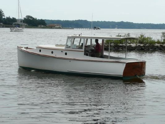 2005 bob stephens custom downeast cold molded picnic boat reduced 9 19 2011  13 2005 Bob Stephens Custom Downeast cold molded Picnic Boat, reduced 9/19/2011