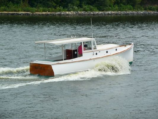2005 bob stephens custom downeast cold molded picnic boat reduced 9 19 2011  138 2005 Bob Stephens Custom Downeast cold molded Picnic Boat, reduced 9/19/2011