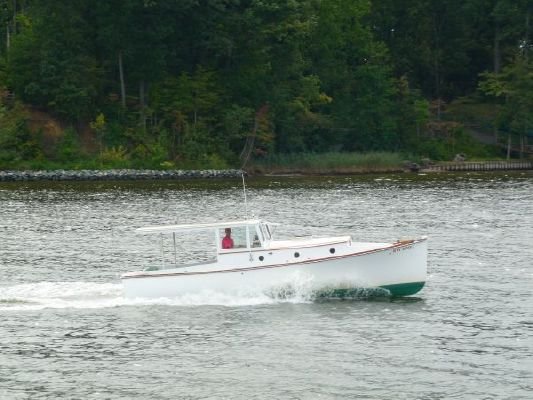 2005 bob stephens custom downeast cold molded picnic boat reduced 9 19 2011  168 2005 Bob Stephens Custom Downeast cold molded Picnic Boat, reduced 9/19/2011