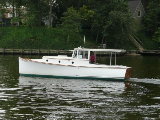 2005 bob stephens custom downeast cold molded picnic boat reduced 9 19 2011  30 2005 Bob Stephens Custom Downeast cold molded Picnic Boat, reduced 9/19/2011