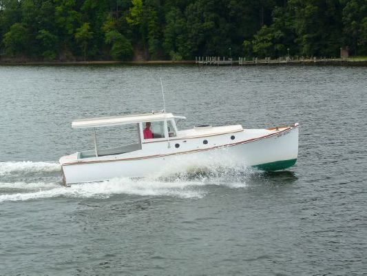 2005 bob stephens custom downeast cold molded picnic boat reduced 9 19 2011  6 2005 Bob Stephens Custom Downeast cold molded Picnic Boat, reduced 9/19/2011