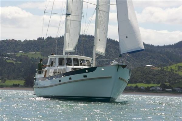 Cheoy Lee Pilothouse Sailboat - Motorsailer 2005 Cheoy Lee for Sale Pilothouse Boats for Sale Sailboats for Sale