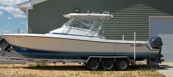 Contender 31 Fish Around Console Cuddy 2005 Contender Powerboats for Sale