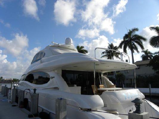 Lazzara Motor Yacht, Hard top open bridge 2005 All Boats