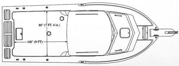 2005 parker 2520 xl sport cabin