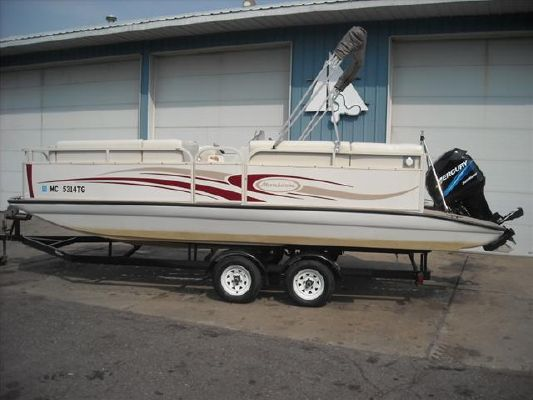 Playtime Monsoon 22' Pontoon Deckboat Monsoon 2005 Deck Boats For Sale Pontoon Boats for Sale