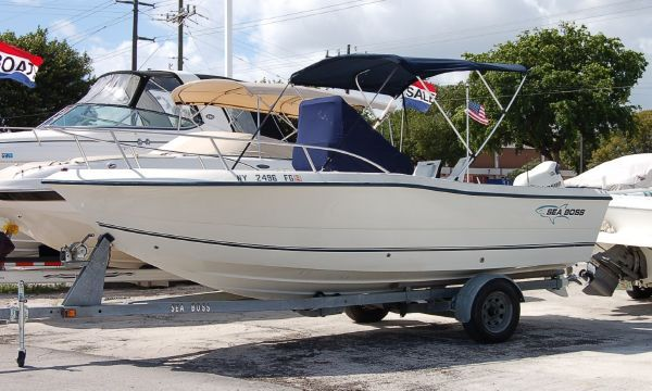2005 Sea Boss By Sea Pro 210 Center Console