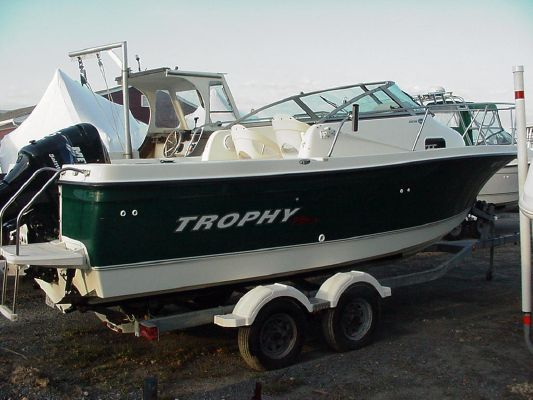 Trophy 2002 Walkaround 2005 All Boats Walkarounds Boats for Sale