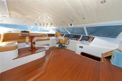 Wooden Motoryacht Fly Tuzla 2005 Ketch Boats for Sale