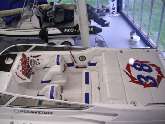 Fountain 38 Lightning Staggered 2006 Fountain Boats for Sale