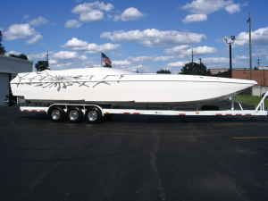 Image Boat Co / Shadow Awesome Cat 38 2006 All Boats