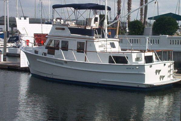 Monk 36' Trawler 2006 Trawler Boats for Sale