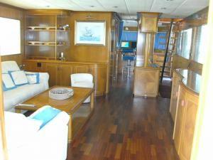 Steel Custom Luxury Explorer Yacht 65 2006 Motor Boats