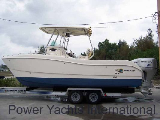 World Cat 230 SF 2006 World Cat Boats for Sale