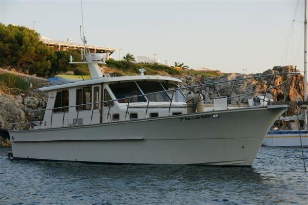 2007 alaska 45 sedan motor yacht  1 2007 Alaska 45 Sedan Motor Yacht
