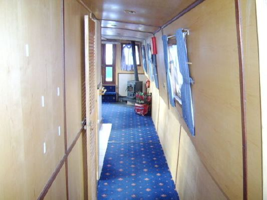 Alexander Boats Ltd Cruiser Stern Wide Beam Steel Canal Boat with Isuzu Diesel Engine 2007 All Boats