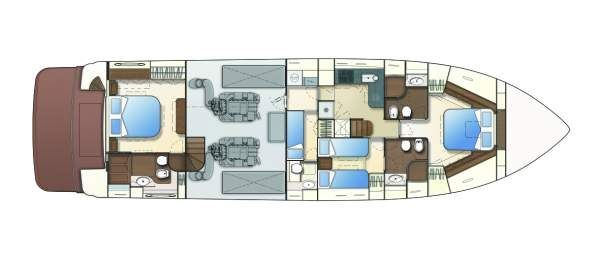 Boats for Sale & Yachts Ferretti 690 2007 All Boats