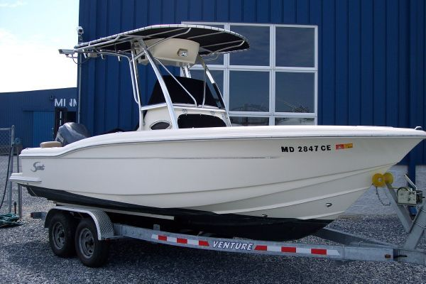 Scout 222 Sportfish 2007 Sportfishing Boats for Sale