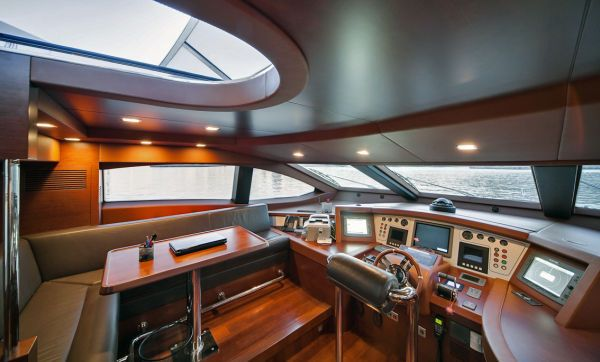 Azimut 105' Boat Cherry Wood Yr. 2008 Azimut Yachts for Sale