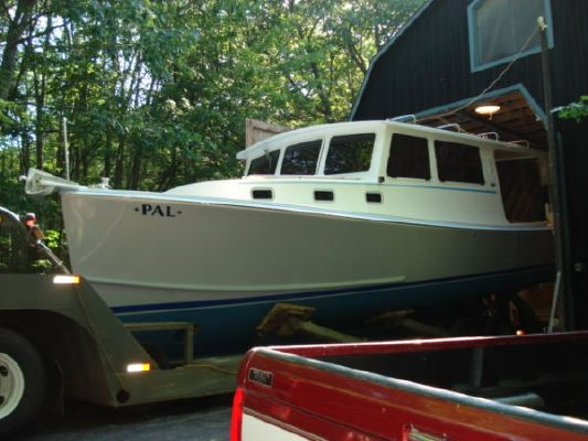 Calvin Beal Lobster Yacht SEE HD VIDEO 2008 Lobster Boats for Sale