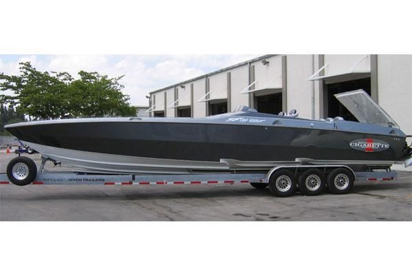 Cigarette Racing 38 Top Gun GT 2008 Cigarette Boats for Sale