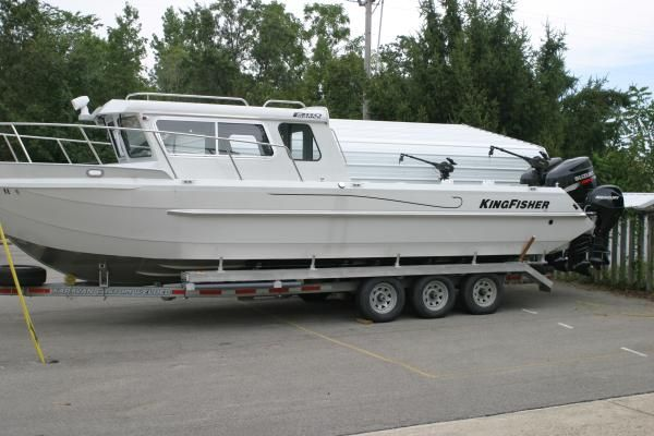 Harbercraft Kingfisher 3025 Pilothouse 2008 Fishing Boats for Sale Pilothouse Boats for Sale