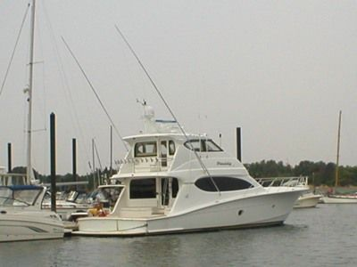 Boats for Sale & Yachts Hatteras Convertible Enclosed Bridge 2008 Hatteras Boats for Sale