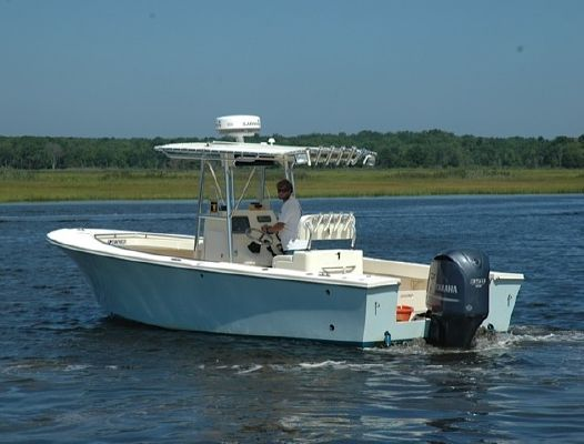 2008 JONES BROTHERS MARINE 26 Cape Fisherman (Low Hours! Warranty!) : Boats Yachts for sale