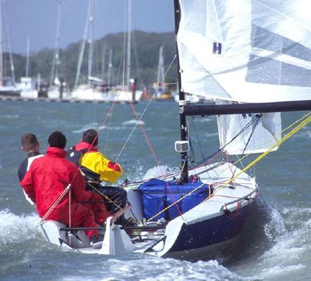 Laser SB3 2008 All Boats