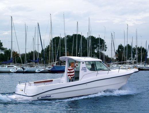 Poseidon Kingfisher 720 2008 Fishing Boats for Sale