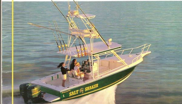 Salt Shaker 300 Center Console, Trades Accepted 2008 All Boats