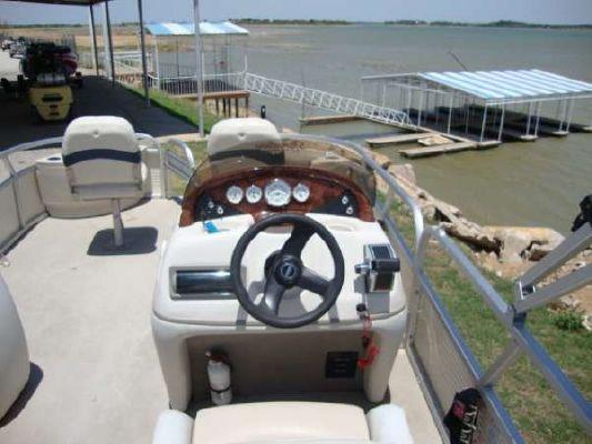 Boats for Sale & Yachts Sun Tracker FISHIN' BARGE 21 COASTAL SERIES 2008 Sun Tracker Boats for Sale