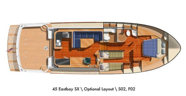 Grand Banks 45 Eastbay SX 2009 Grand Banks Yachts