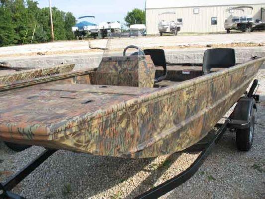Lowe R1455 lowe roughneck jon duck boat 2009 SpeedBoats