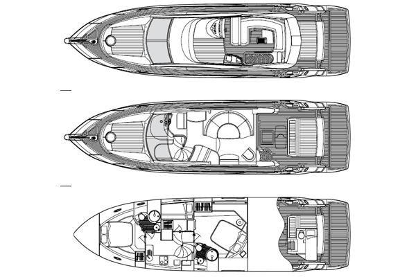 Boats for Sale & Yachts Sunseeker Manhattan 52 2009 Motor Boats Sunseeker Yachts