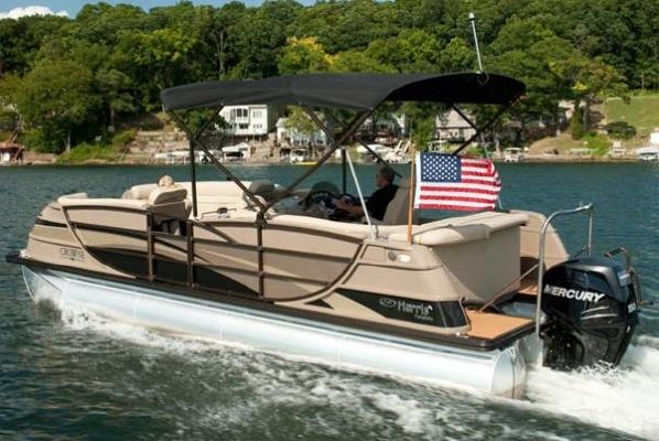 Harris FloteBote 230 Crowne 2010 Crownline Boats for Sale