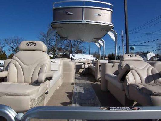 Harris FloteBote Super Sunliner LX 250 Suntop 2010 All Boats