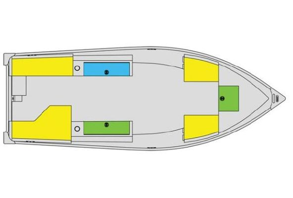 Boats for Sale & Yachts Lund WC 16 DLX Tiller 2010 Lund Boats for Sale