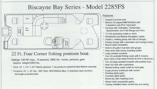 Misty Harbor 2285 FS Biscayne Bay Fish 4 Point 2010 Egg Harbor Boats for Sale