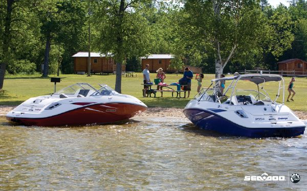2010 Sea Doo Challenger 180 SE Scarlet Red - Boats Yachts