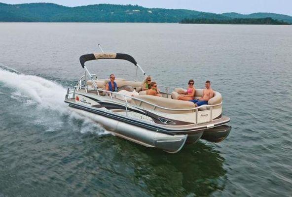 2010 Sun Tracker Party Barge 25 Xp3 Regency Edition