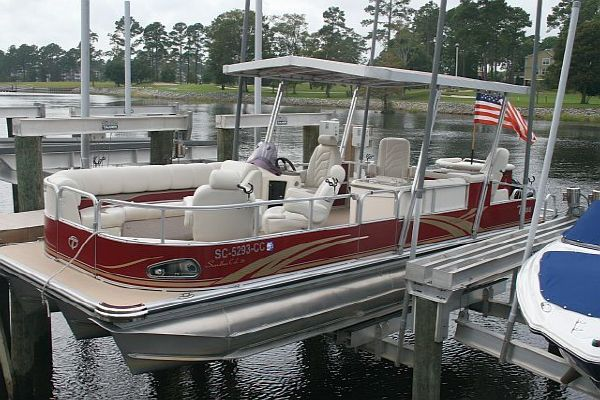 Tahoe SIERRA SANDBAR (Rolls Royce of pontoons) 2010 Pontoon Boats for Sale