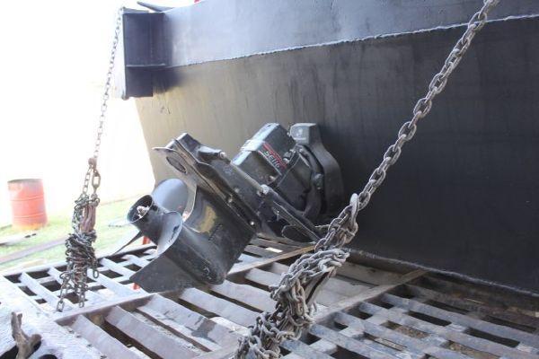 New Build 25' Steel Work Boat/Push Boat 190 hp I/O motor 2011 2011 All Boats