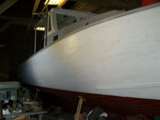 Chapman Downeast Wooden Boat 2011 Ketch Boats for Sale