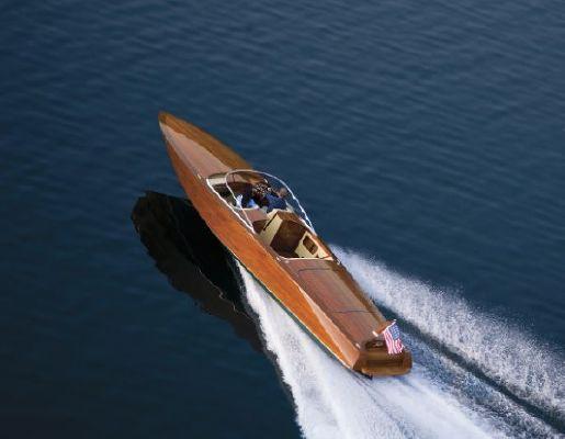Coeur d'Alene Custom Wood Boats 34 2011 All Boats
