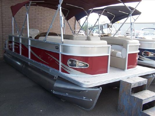 2011 crest pontoon boats classic series 230 boats yachts for Pontoon boat without motor for sale